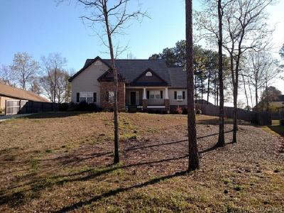 Wetumpka Single Family Home For Sale: 130 Hermitage Pass