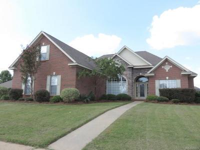 Prattville Single Family Home For Sale: 1810 Riverton Drive