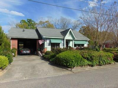 Wetumpka Single Family Home For Sale: 109 S Broad Street