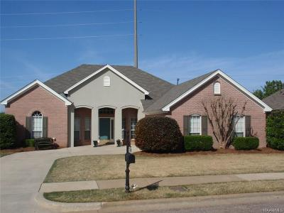 Prattville Single Family Home For Sale: 2489 Chancellor Ridge Road