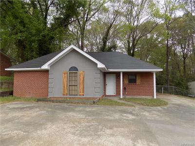 Prattville Single Family Home For Sale: 1215 E Main Street