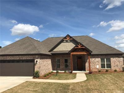Wetumpka Single Family Home For Sale: 159 Village Court
