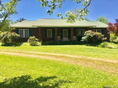 Prattville Single Family Home For Sale: 1695 County 69 Road