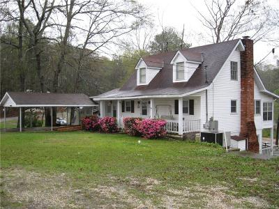 Titus Single Family Home For Sale: 385 Joes Fish Camp Road