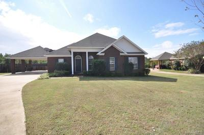 Wetumpka Single Family Home For Sale: 151 Autumn Trail