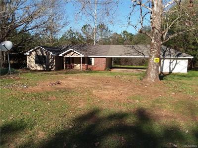 Prattville Single Family Home For Sale: 2534 Sanders Drive
