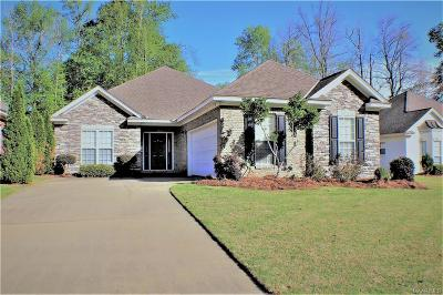 Wetumpka Single Family Home For Sale: 287 River Birch Circle