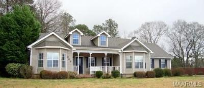 Prattville Single Family Home For Sale: 808 Durden Road