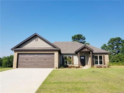 Wetumpka Single Family Home For Sale: 80 Watkins Glen Drive
