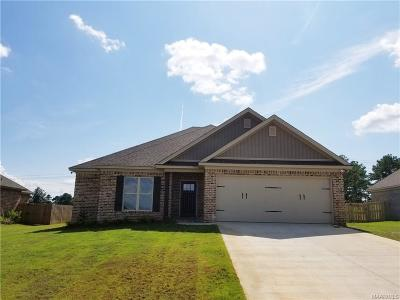 Wetumpka Single Family Home For Sale: 37 Tallahatchie Drive