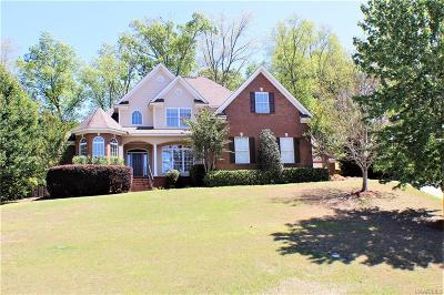 Wetumpka Single Family Home For Sale: 441 Winding Wood Drive