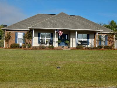 Wetumpka Single Family Home For Sale: 136 Meadowlane Court
