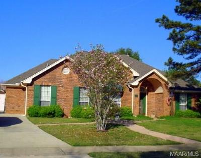 Prattville Single Family Home For Sale: 901 Silver Creek Circle