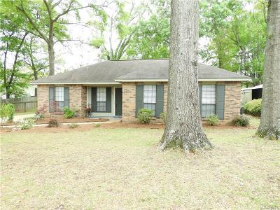 Prattville Single Family Home For Sale: 829 Cobblestone Curve