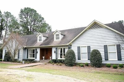 Selma Single Family Home For Sale: 807 Cahaba Road