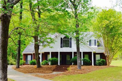 Wetumpka Single Family Home For Sale: 300 River Ridge Road