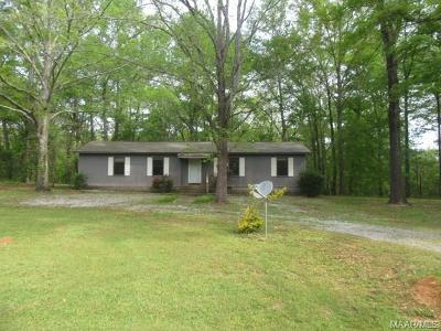 Wetumpka Single Family Home For Sale: 495 Waterview Drive