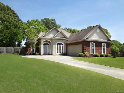 Wetumpka Single Family Home For Sale: 285 Grove Park Loop