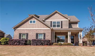 Prattville Single Family Home For Sale: 759 Glennbrooke Boulevard