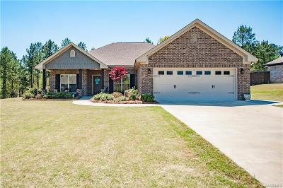 Wetumpka Single Family Home For Sale: 920 Southern Hills Drive