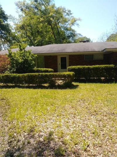 Montgomery AL Single Family Home For Sale: $117,000