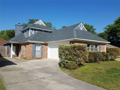 Montgomery AL Single Family Home For Sale: $159,900