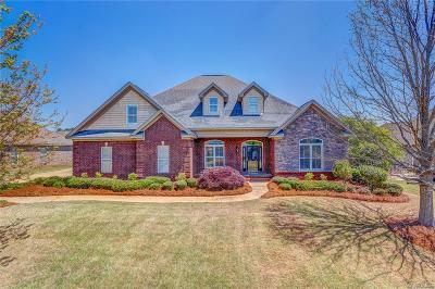Wetumpka Single Family Home For Sale: 40 Jackson Lane