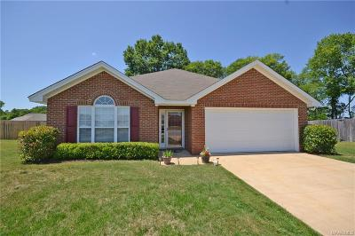 Wetumpka Single Family Home For Sale: 98 Christy Court