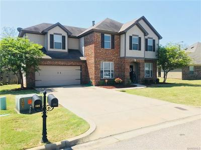 Montgomery Single Family Home For Sale: 605 Evanwood Drive