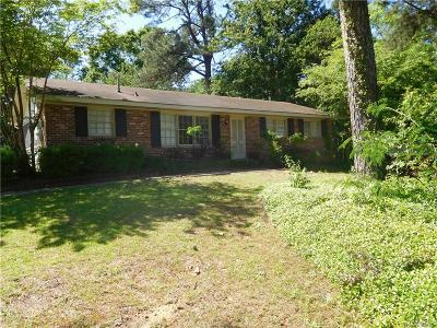 Montgomery Single Family Home For Sale: 1162 Perry Hill Road