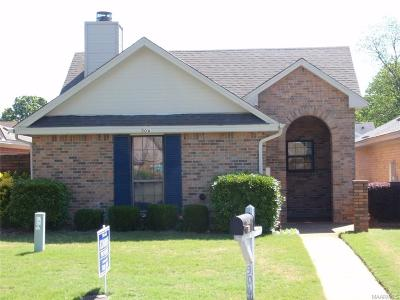 Montgomery Single Family Home For Sale: 306 Ware Hill Court