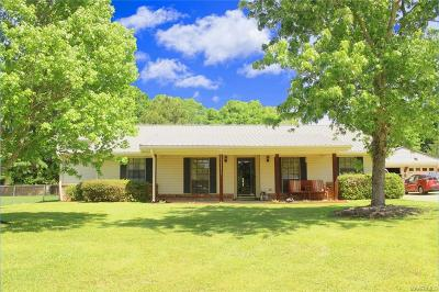 Wetumpka Single Family Home For Sale: 37 Julie Court