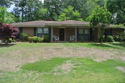 Montgomery Single Family Home For Sale: 3838 Dalraida Place