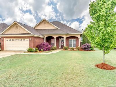 Prattville Single Family Home For Sale: 1723 Meadowbrook Drive