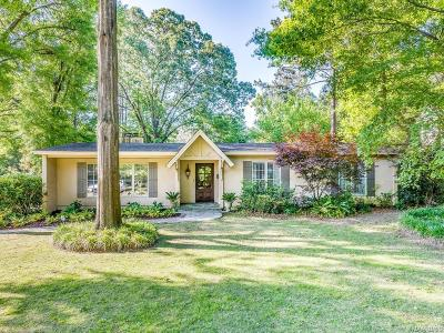 McGehee Estates Single Family Home For Sale: 2478 Hawthorn Drive