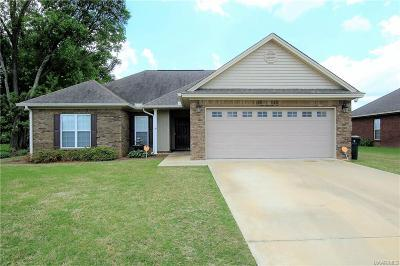 Wetumpka Single Family Home For Sale: 131 Curlee Way