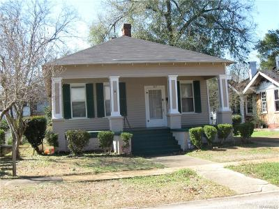Selma Single Family Home For Sale: 817 Pettus Street