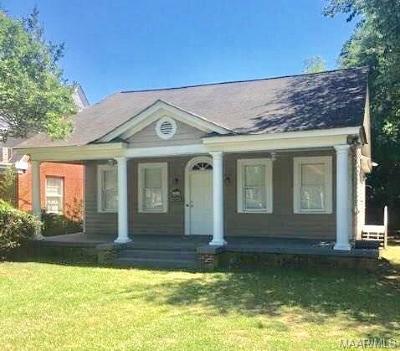 Montgomery AL Single Family Home For Sale: $74,000