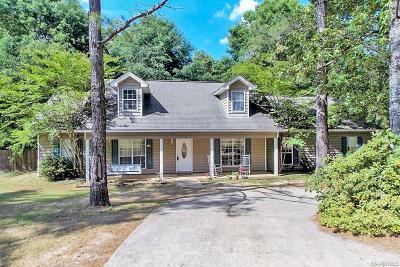 Wetumpka Single Family Home For Sale: 7265 Redland Road