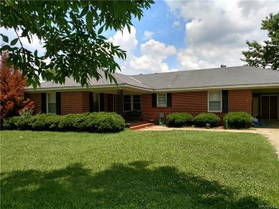Selma Single Family Home For Sale: 230 Old Marion Jct Road