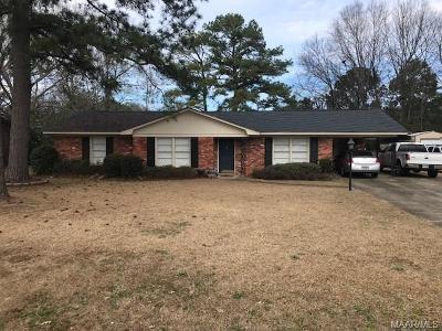 Selma Single Family Home For Sale: 15 Glendale Drive