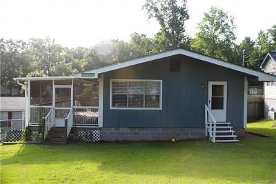 Titus Single Family Home For Sale: 806 Jordan Lake Road