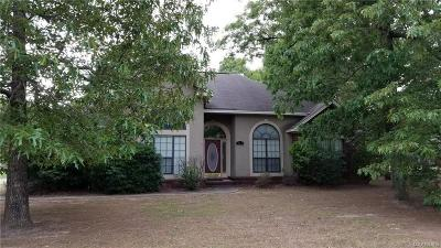 Prattville Single Family Home For Sale: 709 Yellowstone Drive