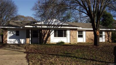 Prattville Single Family Home For Sale: 119 Warwick Drive