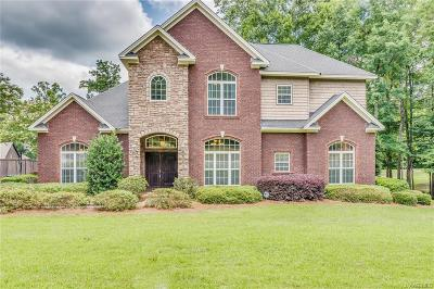 Wetumpka Single Family Home For Sale: 40 Elkmont Way
