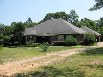 Prattville AL Single Family Home For Sale: $299,000