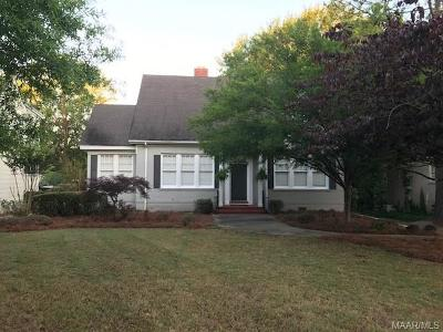 Montgomery Single Family Home For Sale: 2332 College Street