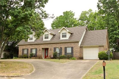 Prattville AL Single Family Home For Sale: $215,000