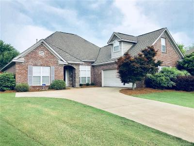 Deer Creek Single Family Home For Sale: 8721 Lillington Circle