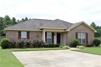 Prattville AL Single Family Home For Sale: $169,900
